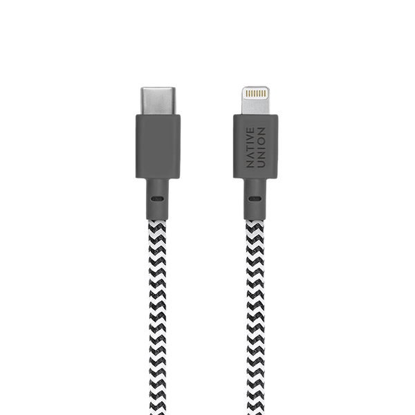 NIGHT CABLE <br> ZEBRA <br> TYPE-C to Lightning
