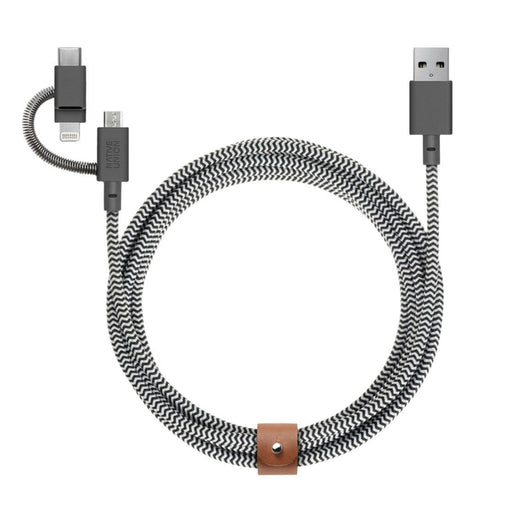 Belt Cable Zebra <br> Universal <br> 2 m