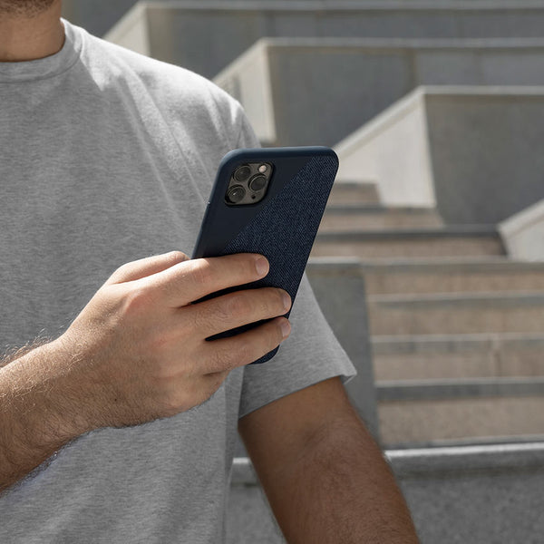 NAVY CLIC CANVAS <br>IPHONE CASE 11 PRO MAX