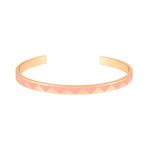 BOLLYSTUD THIN CUFFS <br> POWDER PINK