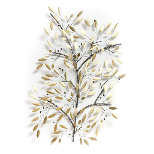 Olive Oak Flower Tree Branch <br> (L 90 x H 140) cm
