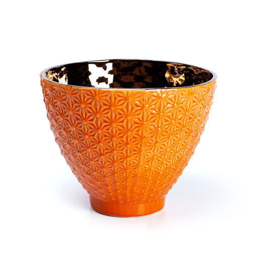 OVAL BOWL <br> ORANGE <br> (16.5 X 21) CM