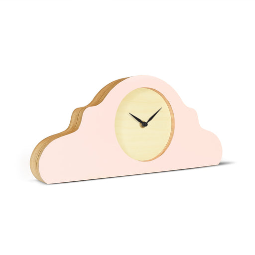 MANTEL CLOCK<br> PEACH PASTEL