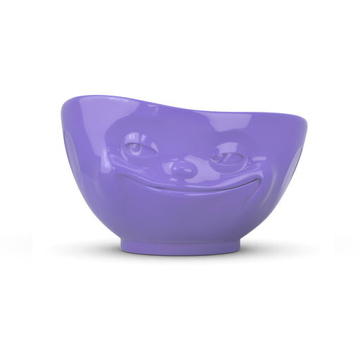 PURPLE BOWL <br> GRINNING  <br> 500 ML