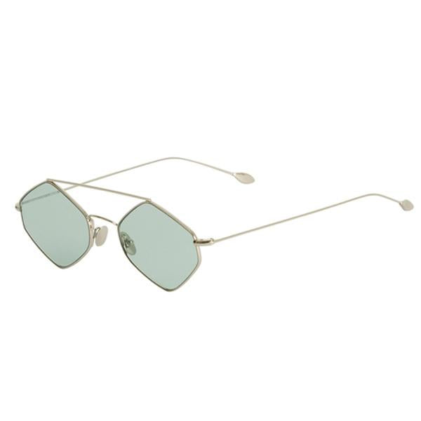 RIGAUT SUNGLASSES <BR>Silver Green