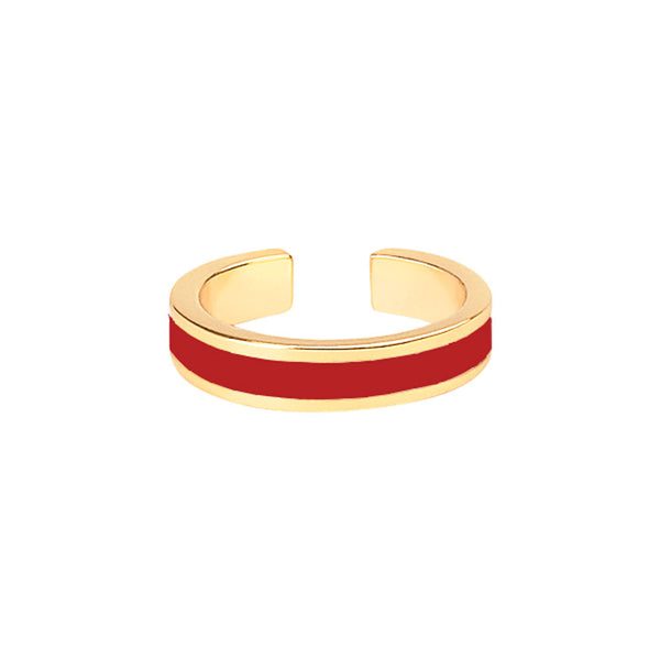 BANGLE RINGS <br>RED VELVET
