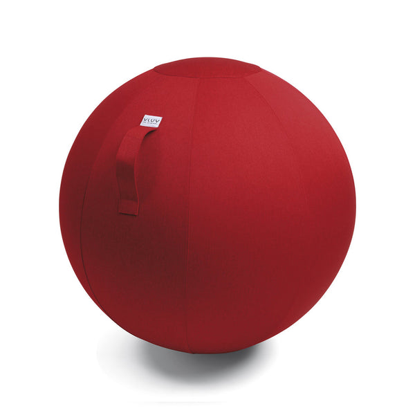 LEIV SEATING BALL <br> RUBY RED