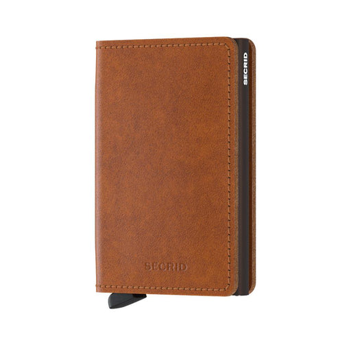 SLIM WALLET <br> ORIGINAL Cognac Brown
