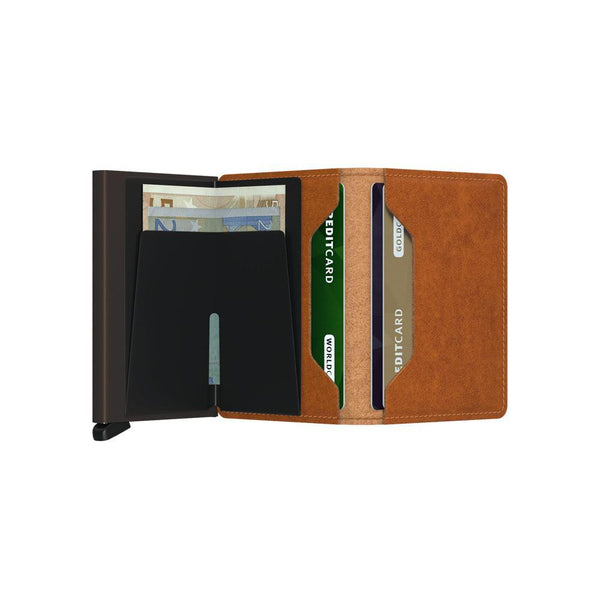 Slimwallet <br> Original Cognac Brown
