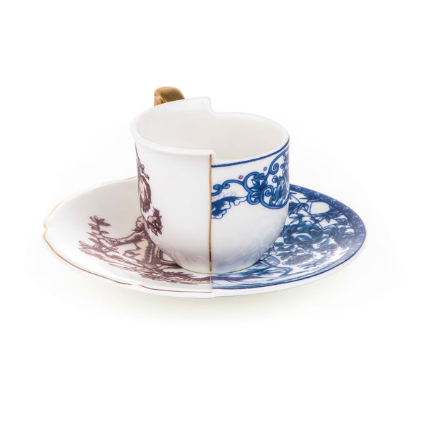 HYBRID COFFEE CUP WITH SAUCER <br> Eufemia