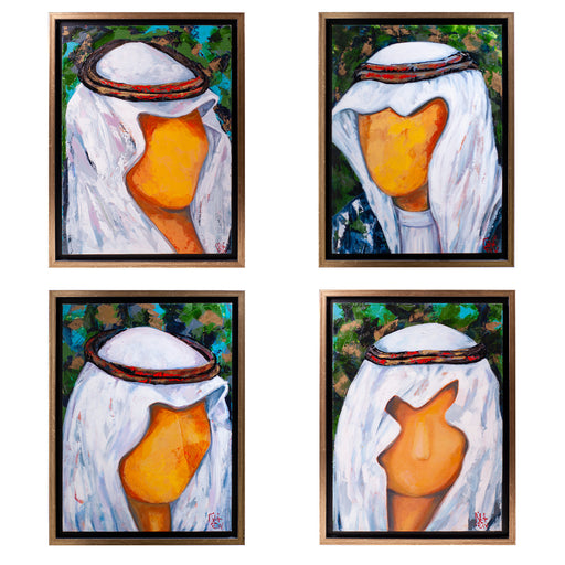THE OUD PLAYERS <br> SET Of 4