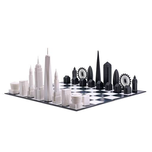 CHESS SET <br> NEW YORK VS LONDON <br>SPECIAL EDITION