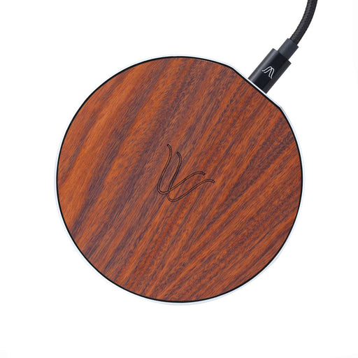 Solo Wireless Charger <br> Rosewood