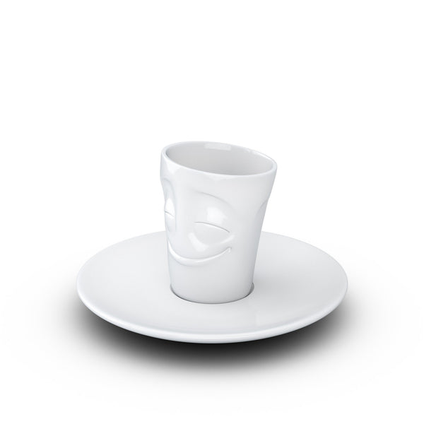 ESPRESSO MUG WITH HANDLE <br> CHEERY