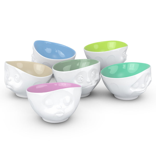 WHITE / PISTACHIO BOWL <br> GRINNING <br> 500 ML