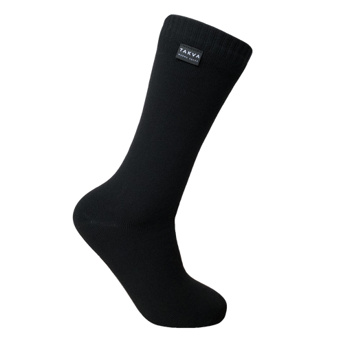 WUDHU SOCKS <br> MEDIUM <br> BLACK