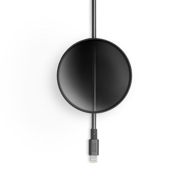 BLACK DOME CABLE <br>NU x TOM DIXON <br> USB-A to Lightning