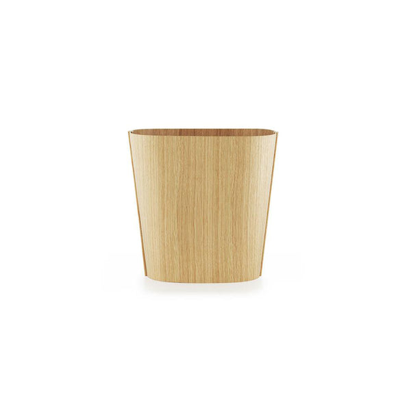 TALES OF WOOD OFFICE BIN <br> OAK <br> (D 26 x L 35.5 x H 34) cm