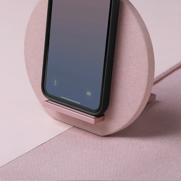 DOCK WIRELESS <br> CHARGER ROSE