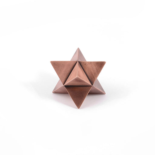 MERKABA <br> PAPER WEIGHT Copper