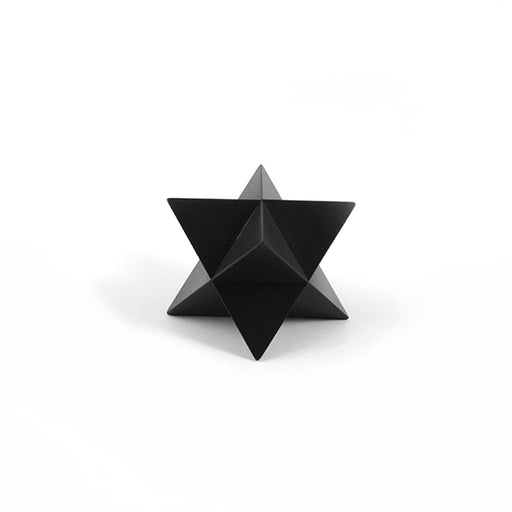MERKABA <br> PAPER WEIGHT Black