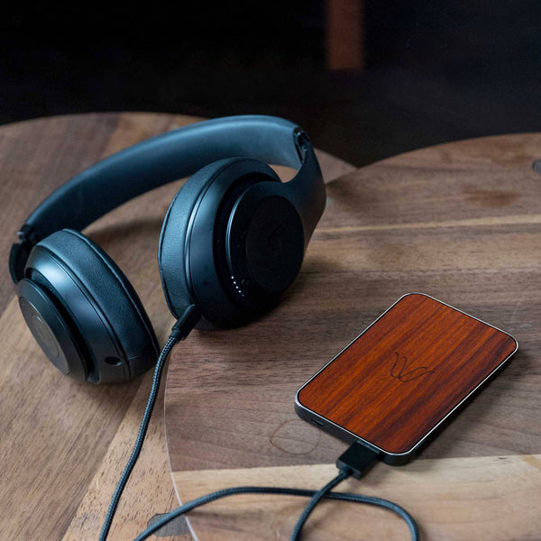 Woodie Wireless Powerbank <br> Palissandro