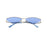 XXX SUNGLASSES <br>GOLD BLUE