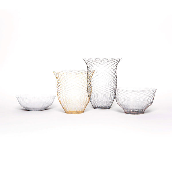 REVERSIBLE AIR VASE <br> MINA GARDEN <br> SET OF 3