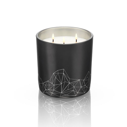 BLACK CANDLE <br> SANDALWOOD & CEDAR<br>LARGE
