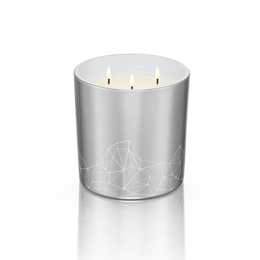 SILVER CANDLE <br> WALNUT & FIG<br>LARGE