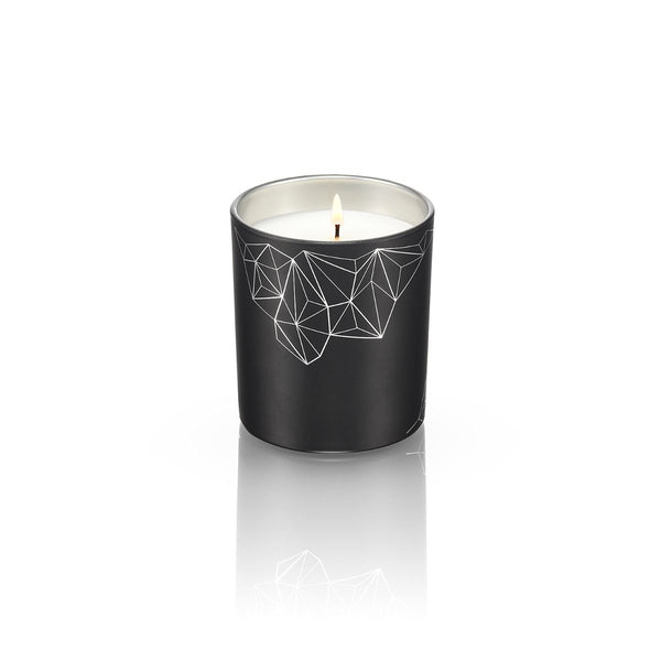 BLACK CANDLE <br> SANDALWOOD & CEDAR<br>MEDIUM