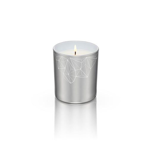 SILVER CANDLE <br> WALNUT & FIG<br>MEDIUM
