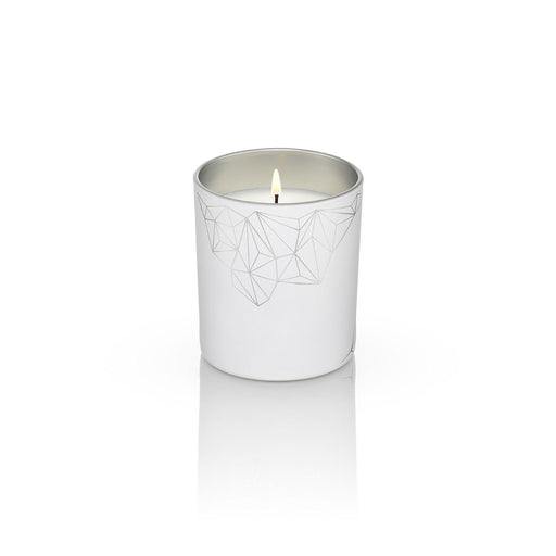 WHITE CANDLE <br> FRANKINCENSE & MANDARIN