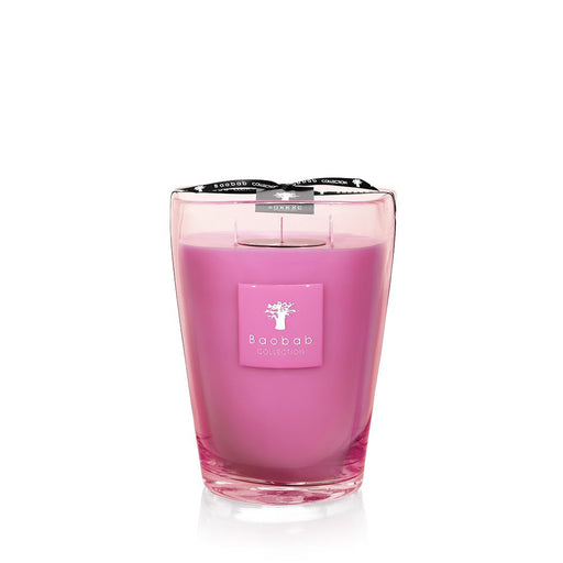 BEACH CLUB D'ENBOSSA CANDLE <br> EXOTIC FRUITS, JASMINE, MUSK <br> LIMITED EDITION <br> (18.3 x 24) CM