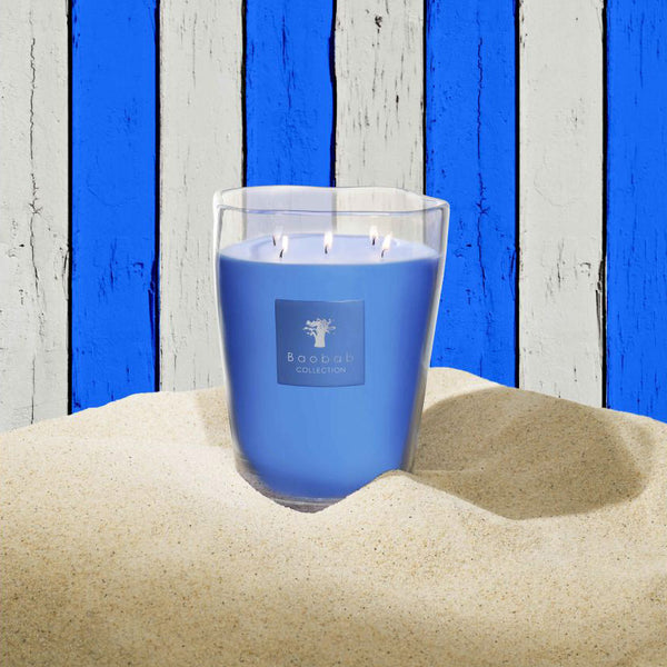 Beach Club Pampelonne Candle <br> Rosemary, Mint, Blackcurrant <br> (14.5 x 16) cm