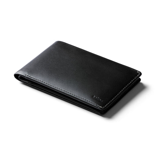 BLACK<br> TRAVEL WALLET