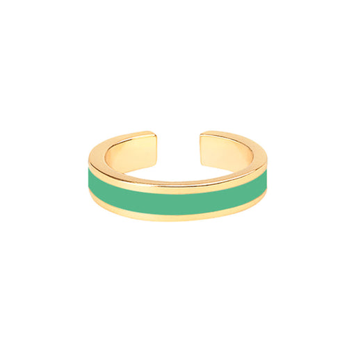 BANGLE RING <br> OPAL GREEN