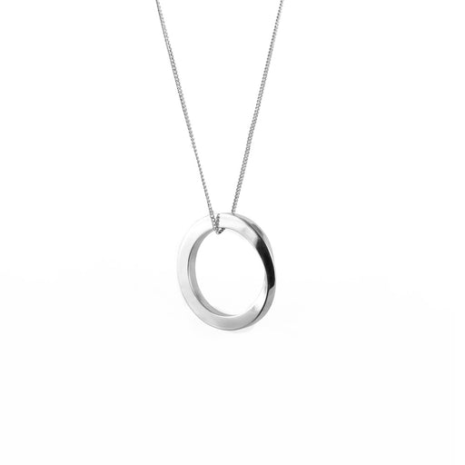 OROBORUS NECKLACE <br>Silver