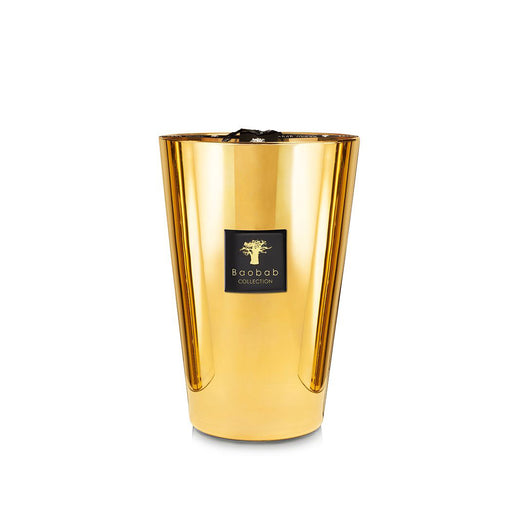LES EXCLUSIVES AURUM CANDLE <br> JASMINE AND MUSK <br> (23 x 35) CM