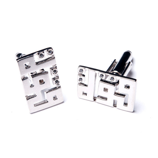 EL QUWA <br>cufflinks Platinum Plated
