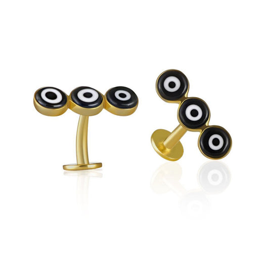 BLACK EYE <br>CUFFLINKS