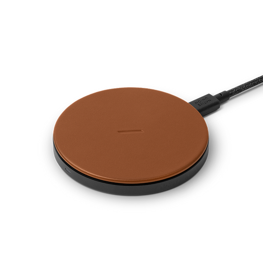 Drop Classic Leather  <br>  Wireless Charger <br>  Brown 2 m