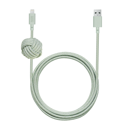 Night Cable Sage <br> USB-A to Lightning <br> 3 m