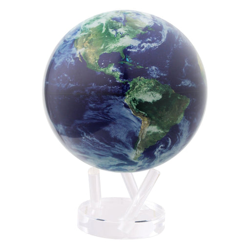 Earth Globe with Clouds <br> Blue <br> (Ø 21 x H 29) cm