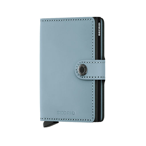 MINI WALLET MATTE <br>Blue Black