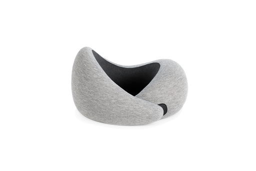 OSTRICH PILLOW GO <br>TRAVEL NECK PILLOW<br> MIDNIGHT GREY