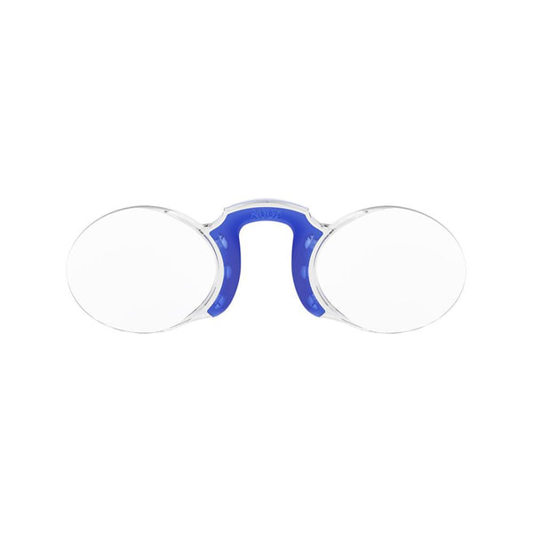 Reading Glasses<br> Oval Navy Blue