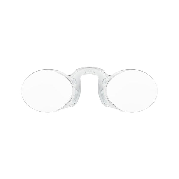 Reading Glasses <br> Oval Silver