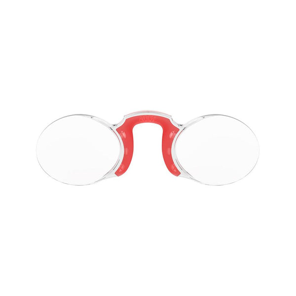 Reading Glasses<br> Oval Red