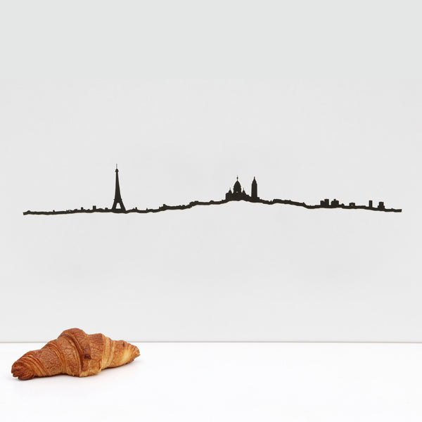 Paris Skyline <br> Black <br> 50 cm
